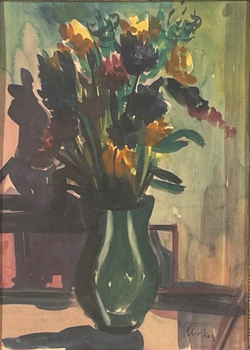 Zygmunt Menkes(1896-1986), Kwiaty w wazonie