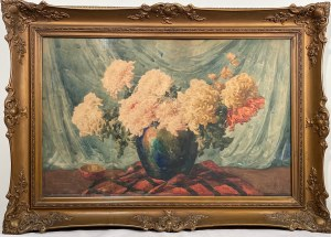 Teodor Grott(1884-1972), Kwiaty w wazonie