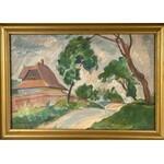 JAN BEDNARSKI(1891-1956),WIEJSKA DROGA