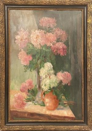 Ignacy Pieńkowski(1877-1948), Kwiaty w wazonie