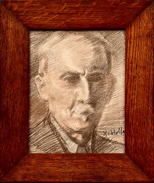 Kazimierz Wiktor Holler, Autoportret