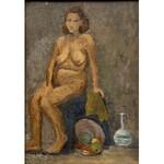 Henryk Lewensztadt(1893-1962), Kobiecy akt z martwą naturą