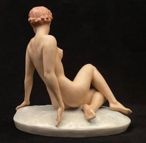 Figura art deco ''Kobiecy akt''