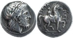 Ancient Greece Macedonia AR Tetradrachm 342 - 336 BC Philip II