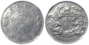 China Empire 1 Dollar 1911 (3) NGC AU DETAILS