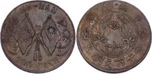 China Honan 200 Cash 1928 (ND)