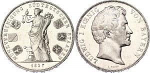 German States Bavaria 2 Taler / 3-1/2 Gulden 1837