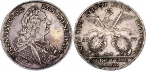 German States Nürnberg 1 Taler 1757 MF