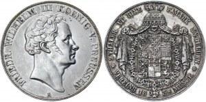 German States Prussia 2 Taler / 3-1/2 Gulden 1839 A