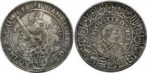 German States Saxony Reichstaler 1613