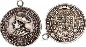 Austria Salzburg 1/2 Guldiner 1539 MDXXXIX Matthäus Lang von Wellenburg