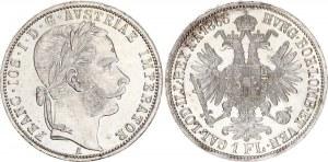 Austria 1 Florin 1866 A