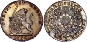 Austrian Netherlands 3 Florin / 3 Gulden 1790