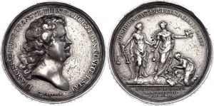 Hungary Silver Medal On the proclamation of the independence of Hungary 1703