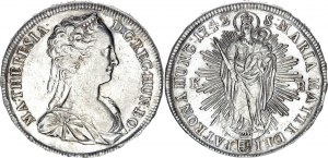 Hungary 1 Taler 1742 KB