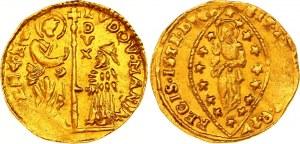 Italian States Venice 1 Zecchino 1789 - 1797 (ND)