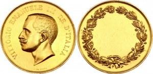 Italy Vittorio Emanuele III Gold Medal Zecca 1900-1943