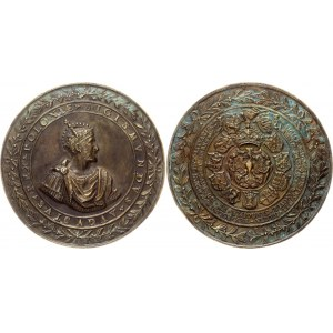 Poland Sigismund Augustus Bronze Medal 1548 - 1572 (ND)