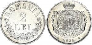 Romania 2 Lei 1875