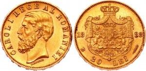 Romania 20 Lei 1883 B
