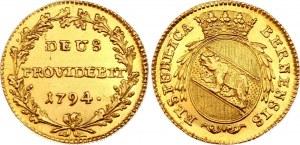 Switzerland Bern Duplone 1794