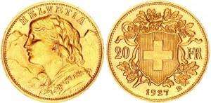 Switzerland 20 Francs 1927 B