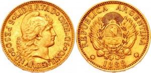 Argentina 1 Argentino 1888
