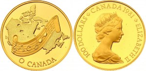 Canada 100 Dollars 1981