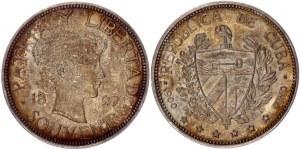 Cuba 1 Souvenir Peso 1897