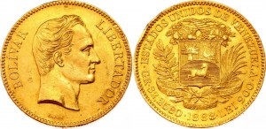 Venezuela 100 Bolivares 1888 C
