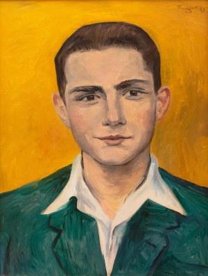Wojciech Fangor (1922 Warszawa - 2015 Warszawa), Portret mężczyzny, 1949