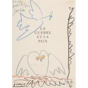 Pablo Picasso (1881 Malaga - 1973 Mougins), Wojna i Pokój, 1961