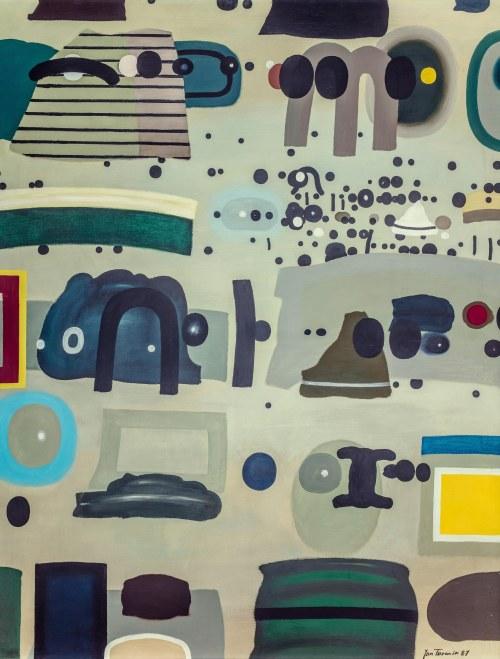 Jan Tarasin (1926 Kalisz - 2009 Warszawa), Rozmnażające się zapisy 1, 1987/92