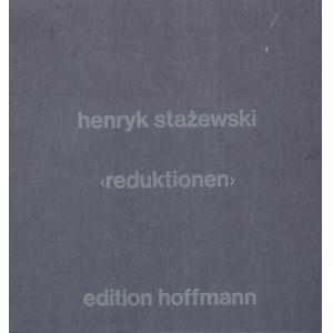 Henryk Stażewski (1894 Warszawa – 1988 tamże), Redukcje, 1976