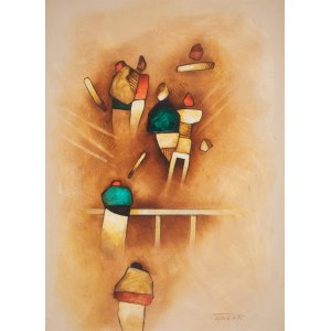 Witold Kaczanowski / Witold - K (ur. 1932, Warszawa), z cyklu People, 1971