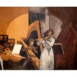 Kazimierz Śramkiewicz (1914 Poniec - 1998 Gdańsk), Koncert na flet i harfę I, 1972/81