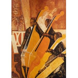 Kazimierz Śramkiewicz (1914 Poniec - 1998 Gdańsk), Wiolonczele i kontrabasy, 1988/89