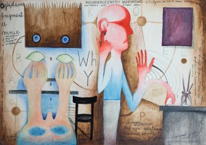 RUSZCZYŃSKI Jerzy, Psychozależności wzrokowe, 2012