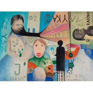 RUSZCZYŃSKI Jerzy, Zobaczysz jak mnie zabraknie, z cyklu Psychoanaliza, 2010