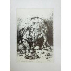 MILIŃSKI Dariusz, Oczyszczam z grzechów moje miasto (69/100), 2021