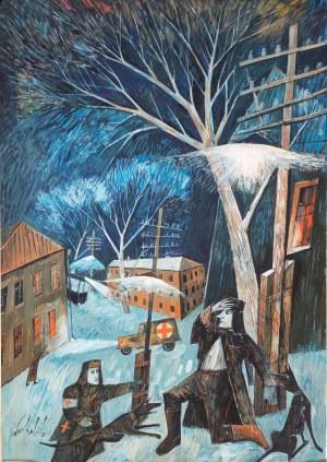 KULIK Iwan, Ilustracja do Mistrz i Małgorzata, 2011
