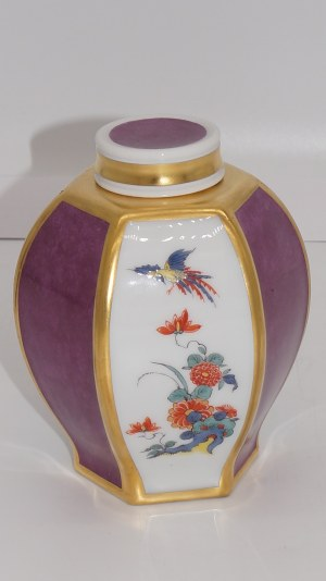 herbatnica z dekoracją chinoiserie Miśnia