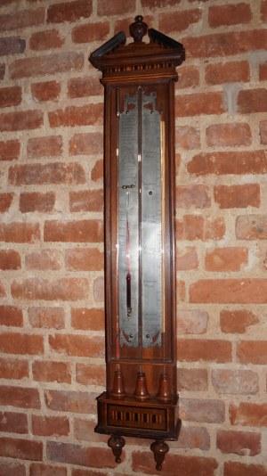 holenderski barometr XVIII w. Roterdam