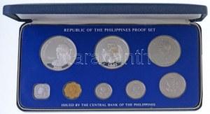 Fülöp-szigetek 1981. 1s - 50P (8xklf) forgalmi sor, eredeti dísztokban T:PP / Philippines 1981. 1 Sentimo - 50 Piso ...