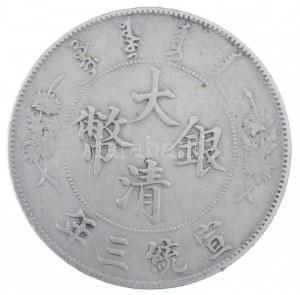 Kína 1911. 1$ Ag
