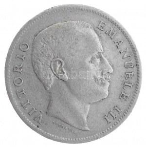 Olaszország 1907R 1L Ag