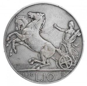 Olaszország 1930R 10L Ag