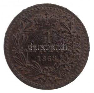 Szerbia 1868. 1p Br