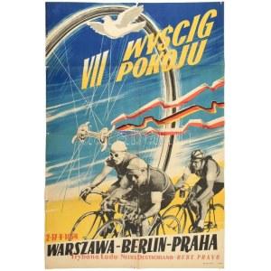 1954 VII. Wyscig Pokoju, Warszawa-Berlin-Praha, 2-17. V. 1954. /