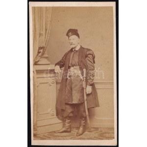 cca 1864 Piotr Stanislaw Moszynski (1800-1879) lengyel politikus, katona, 1846-ban a felkelő kormány tagja...
